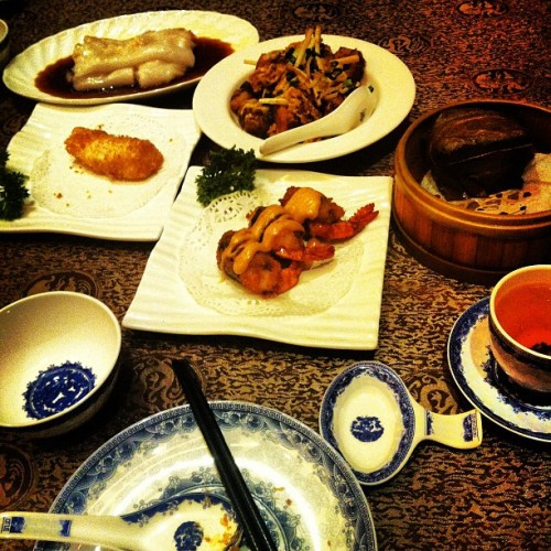 Dim sum brunch with Pete! (Taken with Instagram)