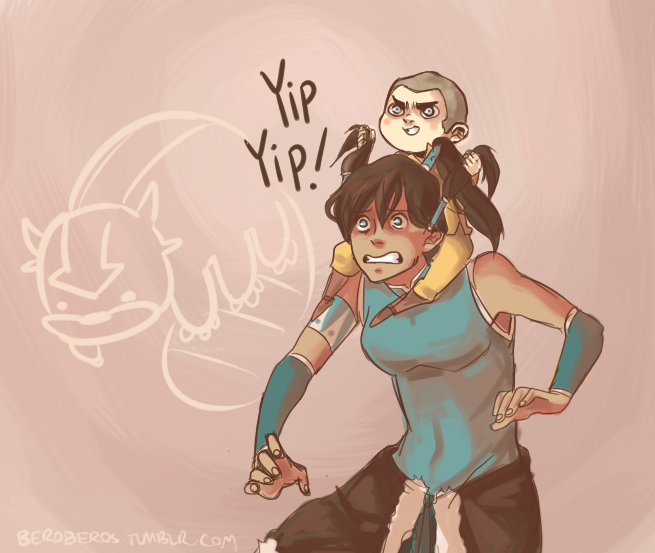 beroberos:  Poor Korra. Silly doodle for you guys today~