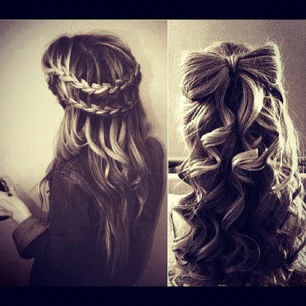 keannam:  Ribbon braid !! #weheartit #braid #ribbon #hair (Taken with Instagram)