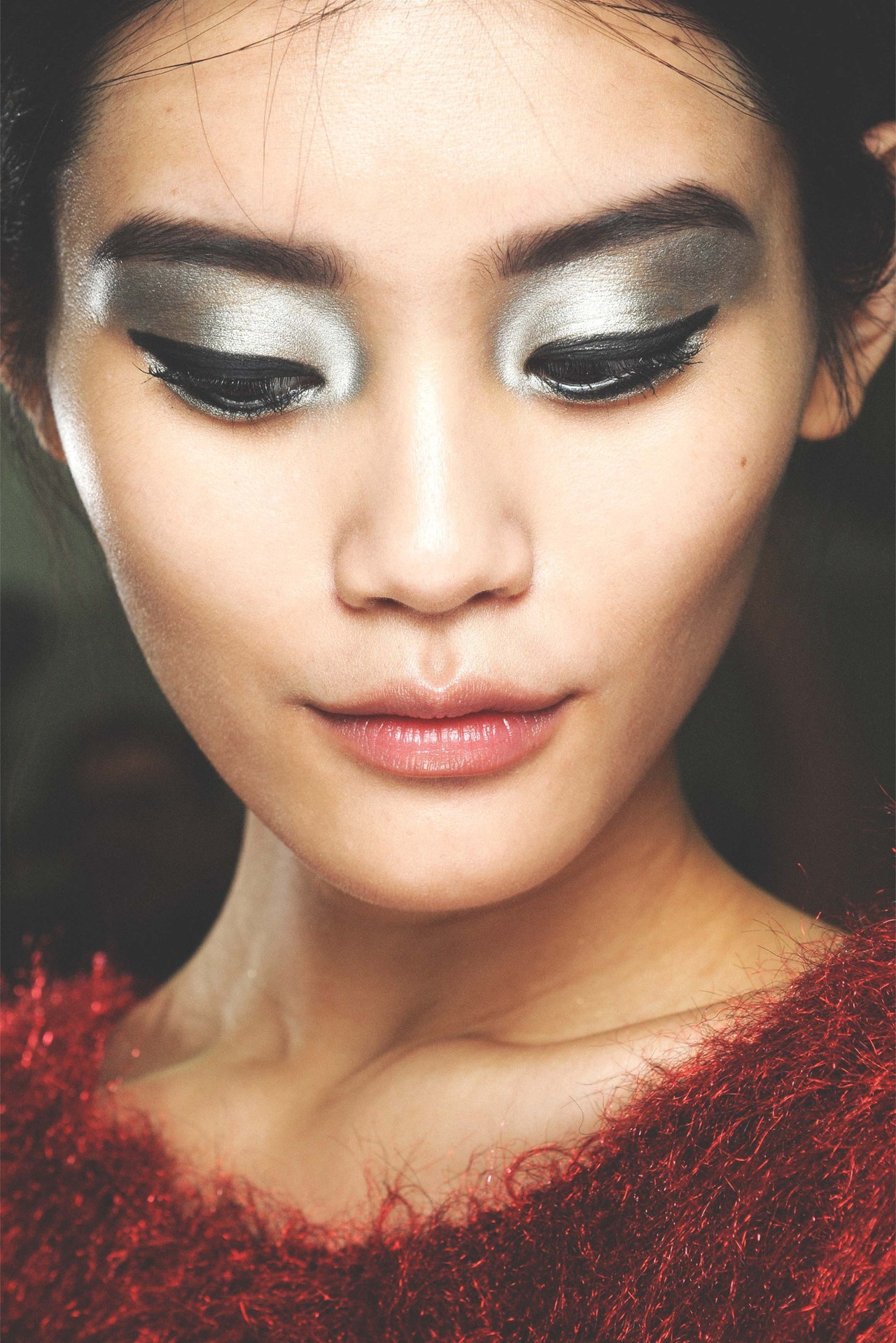 chanel s/s 2013 rtw, ming xi backstage