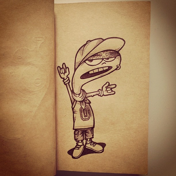 Yo Mamu!! #cartoon #character #funny #doodle #instatoon #sketch #drawing #art #illustration #sketchbook #instasketch #instart #maniknratan #expression #dirty #draw #comic #pokerface #tomboy #igphoto #style#fashion #kid #nerd #teenage #teen #geek #boy (Taken with Instagram at LUCT Hostel On Campus New)