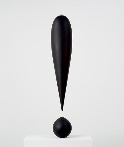 """exclamation mark"" by richard artschwager"