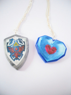 fuckyeahlink:  thebeautboutique submitted Legend of Zelda Necklaces! via thebeautboutique