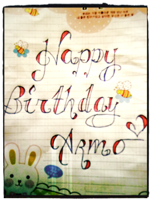 I got this for you ♥ @arminov Happy Birthday :))