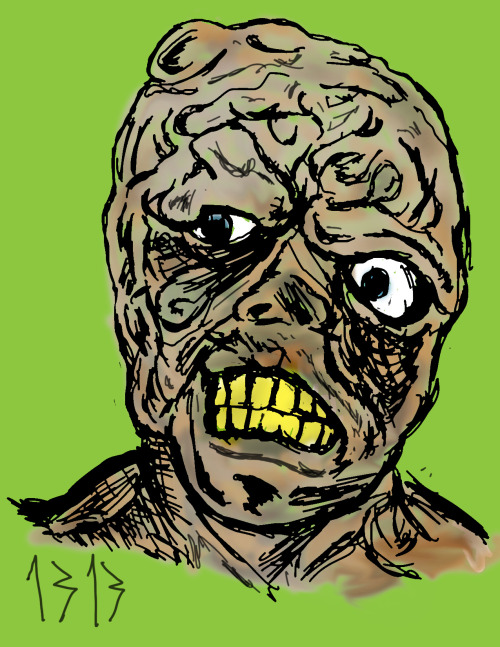 Month Of Horror:2. The Toxic Avenger Part III: The Last Temptation of Toxie, 1989Why do I keep coming back to this series? This one was boring, the only decent parts are the fight scene at the beggining and when Toxie's face melts off. On the good side there's only one sequel left.P.S. This film is made up of half the footage for Toxic Avenger Part II.