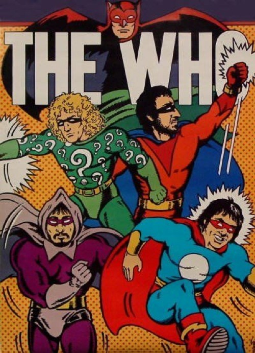The Who - Comic Book Superheroes