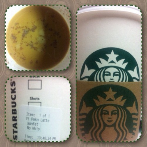 In my cup: Pumpkin Spice Latte. Starbucks? Yeeaaah, more like Crackbucks! #october #octoberphotoaday #octoberphotochallenge #day02 #daytwo #dailypic #dailyphoto #potd #photoaday #picoftheday #photoadayoct #photoadayoctober #photochallenge #jj #jj_forum #instamood #instagood #day2 #agrandelife #agrandelifepotd #agrandelifephotoaday #inmycup #starbucks #starbucksprobz #starbucksaddict #psl #pumpkin #fall  (Taken with Instagram at Starbucks)