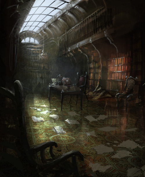 bookporn:  Library by daRoz