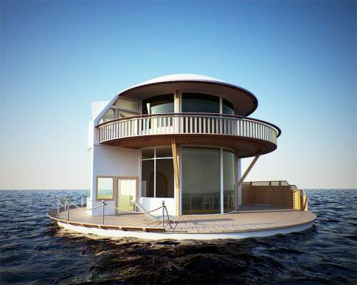 coletureconcept:  #mynewhouse #perfecthideout #thefutureofhouses #waterworld When the glaciers melt, this is where you can find me……..that is, if you can find me.  Welp.