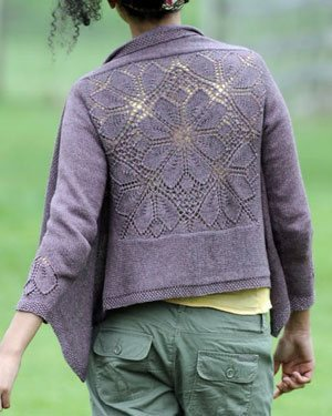 The Dahlia Cardigan by Heather Zoppetti, from the Fall 2011 issue ofInterweave Knits