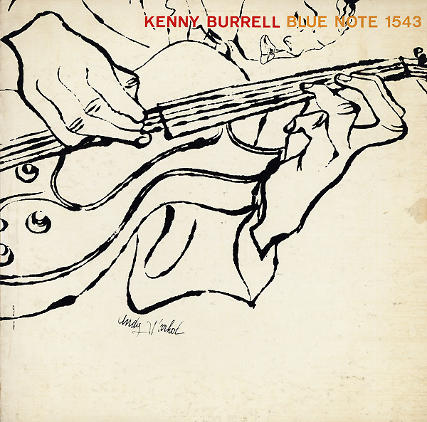 Kenny Burrell - self titled LP (cover art by Andy Warhol)