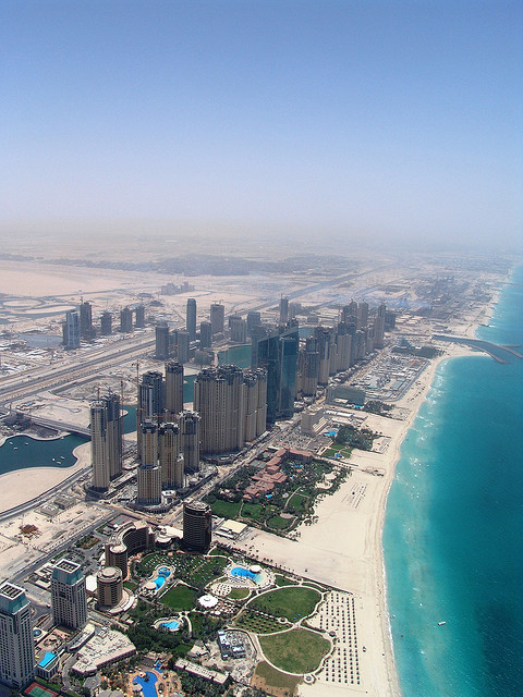 Jumeirah Beach Residence,Dubai. This waterfront complex offers a typical Dubaisetting. Luxury accommodation and excellent surroundings, Jumeirah Beach Residence is an excellent resort for beach lovers. To see our apartments in Jumeirah Beach Residence visit… http://www.alphaholidaylettings.com/United_Arab_Emirates_holiday_rentals/Dubai/Jumeirah_Beach