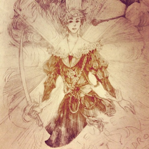 starstray:  God and my right #aph:england #arthurkirkland (Taken with Instagram)