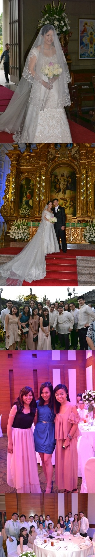 At my officemate Anna and Marvin's wedding - with the rest of TCO team