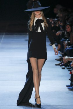 fashiondailymag:  Saint Laurent Spring/Summer 2013