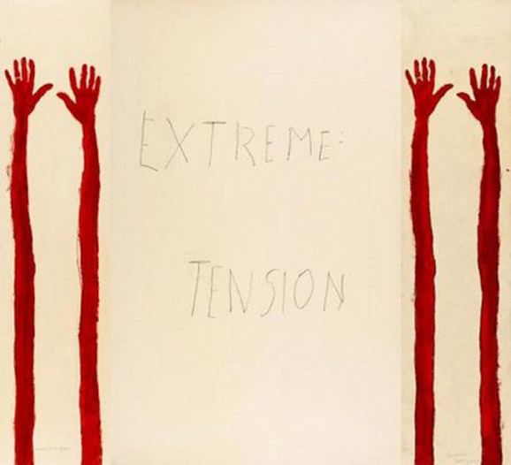 Louise Bourgeois, extreme tension via all the luck in the world