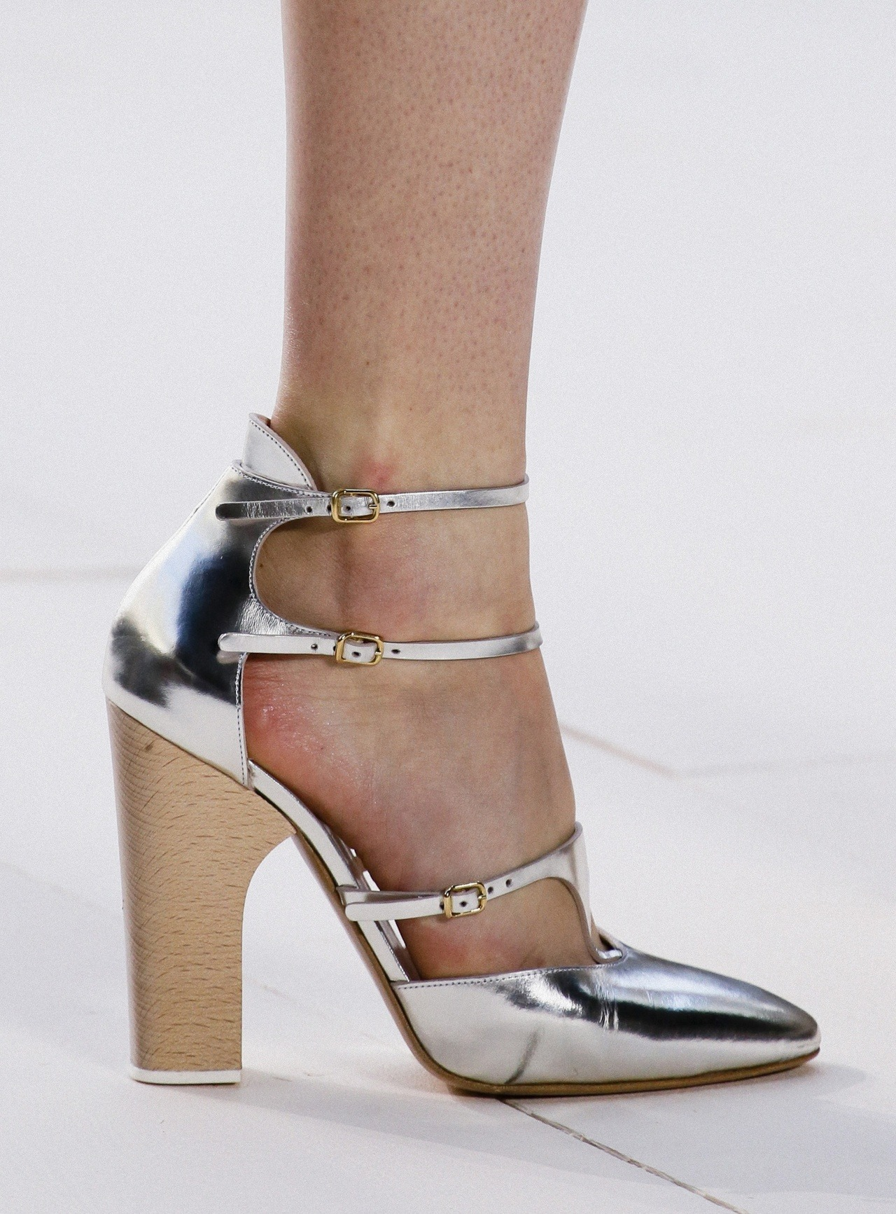 shoes @ Chloé Spring 2013.