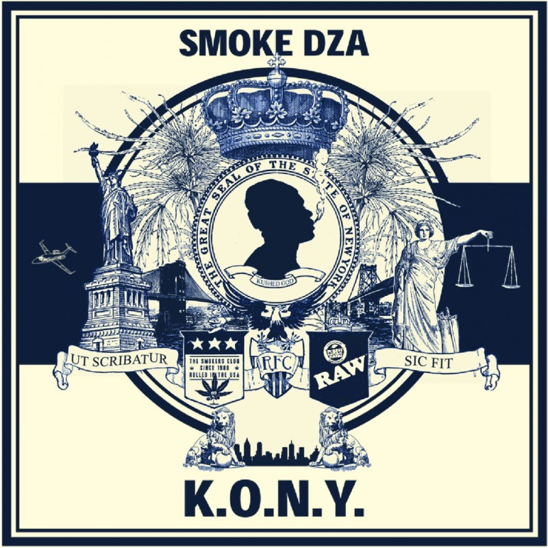 Smoke DZA enlists the likes of Curren$y, Big K.R.I.T., Fat Trel and more for thus new tape, K.O.N.Y.  Download here http://InnerCityTapes.com
