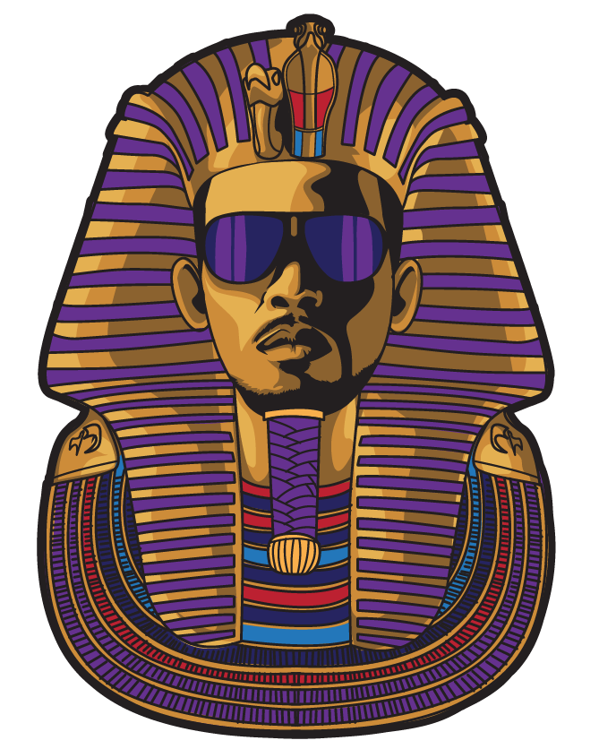 """The Street Pharaoh"" illustration for Freeze"