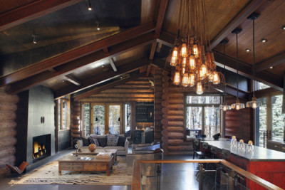 georgianadesign:  Telluride cabin by TruLinea Architects.