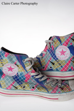 Converse Shoes © Claire Carter Photography