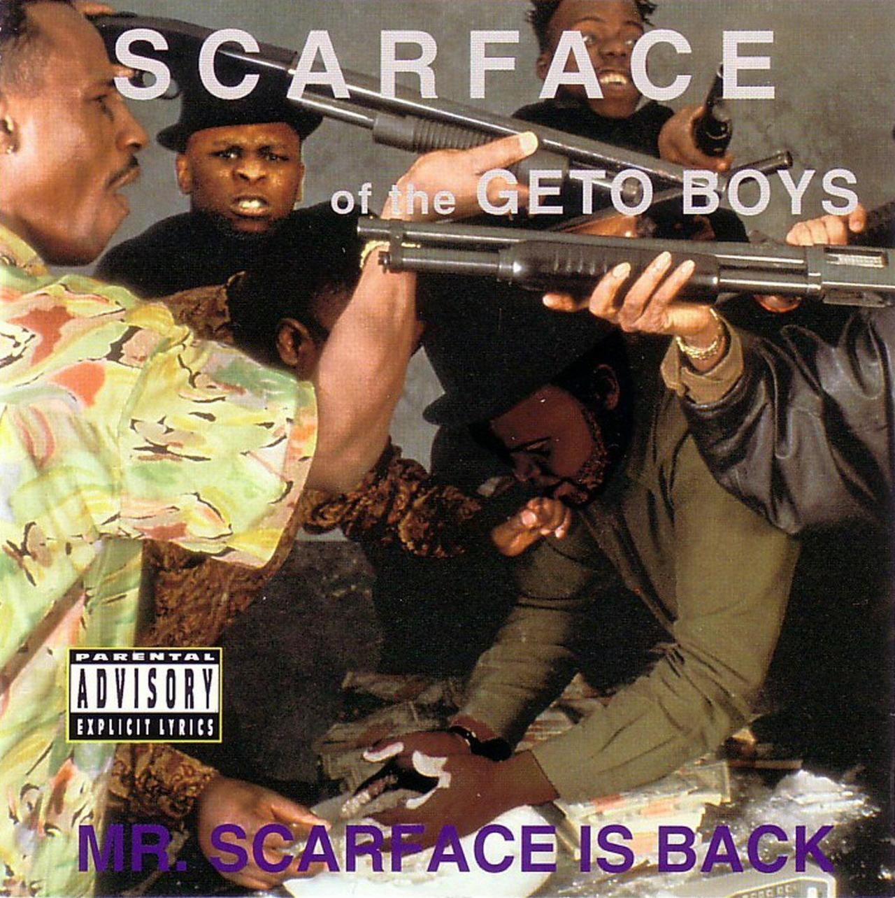 BACK IN THE DAY |10/3/91| Scarface releases his debut solo album, Mr. Scarface Is Back, on Rap-a-Lot Records.