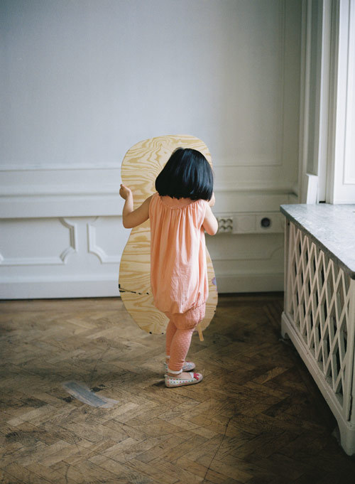 "(via Malin Gabriella Nordin - BOOOOOOOM! - CREATE * INSPIRE * COMMUNITY * ART * DESIGN * MUSIC * FILM * PHOTO * PROJECTS) Malin Gabriella Nordin's ""Private Language"" is a project where she invited children, aged 3-5, to interpret a collection of her sculptures."