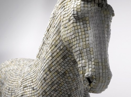 Keyboard horse (Babis Cloud) | This is so cool.