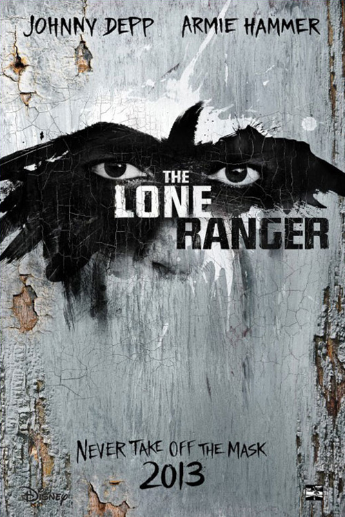 See the first Lone Ranger poster Teasing the respective costumes worn by co-stars Johnny Depp and Armie Hammer