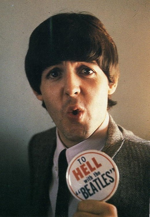 laughingsquid:  To Hell With the Beatles