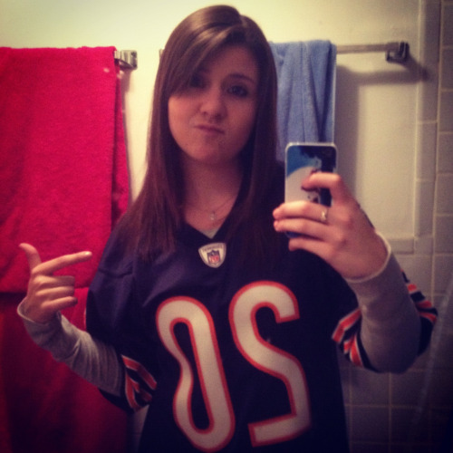 Monday night's game. Da Bears