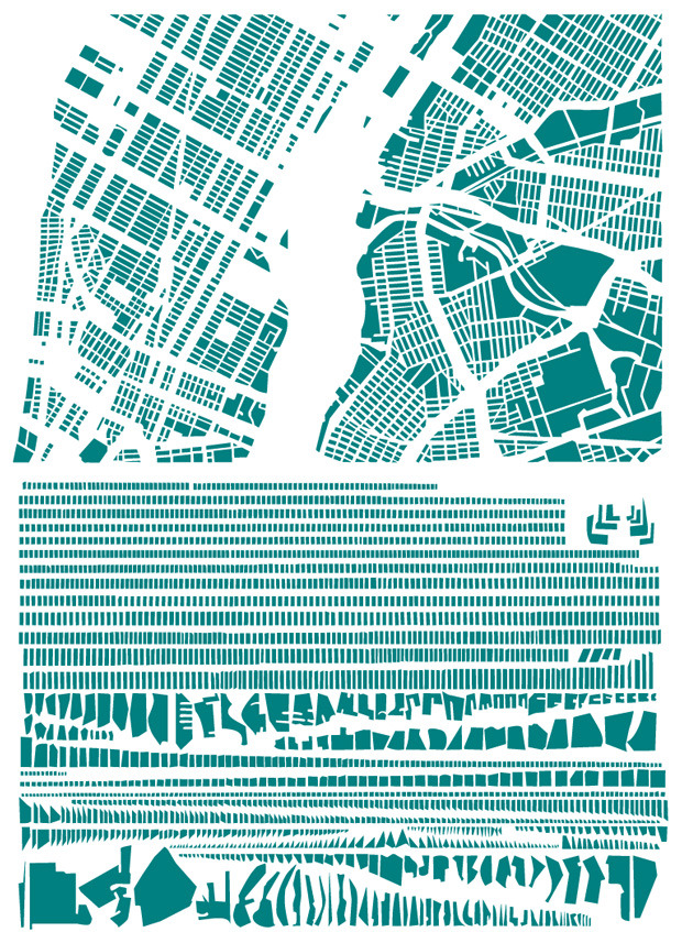 The Famous Grids of Iconic Cities, Deconstructed and Remixed