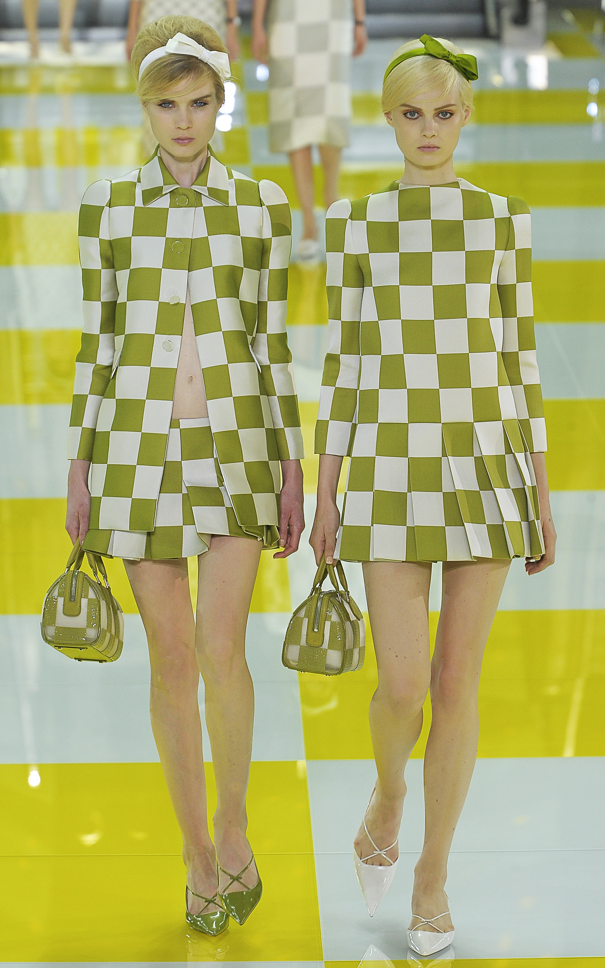 Photo by firstVIEW The Bobbsey Twins Louis Vuitton Spring 2013, Paris.