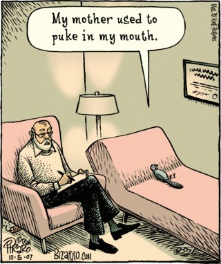 Happy Funny Friday!  Bizarro comics are pretty fun, aren't they?