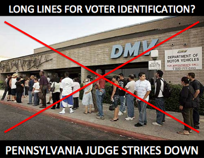 This week, a Pennsylvania judge ruled that voters do not need to show a photo ID when they show up at the polls November 6. What do you think about this decision?  For today's full translation, click here: http://bit.ly/QPcSFL