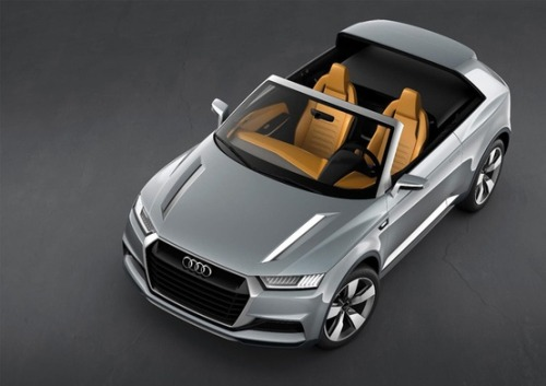 Gorgeous little thing > Audi Crosslane Hybrid Coup