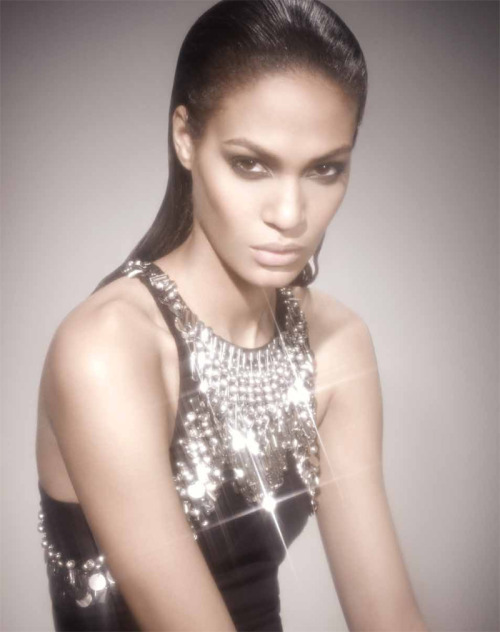 bergdorfgoodman:  Joan Smalls in McQ Anniversary Collection Luciana Val and Franco Musso for Bergdorf Goodman Watch the video