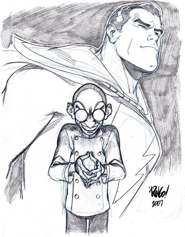 Dr. Sivana by Mike Wieringo