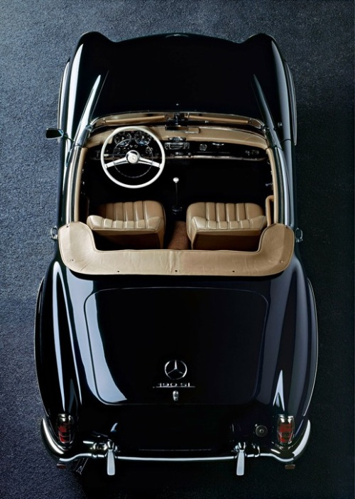 dainelthegreat:  Mercedes-Benz 190 SL