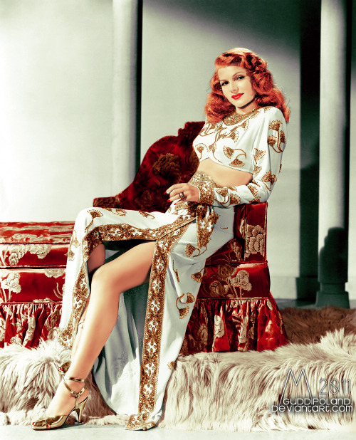 thelingerieaddict:   Rita Hayworth  That costume.