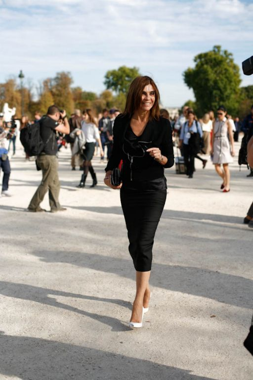 Paris Fashion Week Carine Roitfeld at Paris Fashion Week #pfw #paris #carineroitfeld