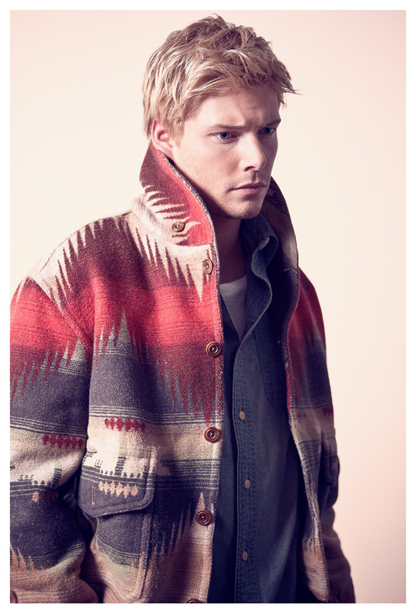 Hunter Parrish by Justin Hollar