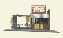 Yuca's taco stand on Hillhurst Available as an open-edition archival print in my online print shop.
