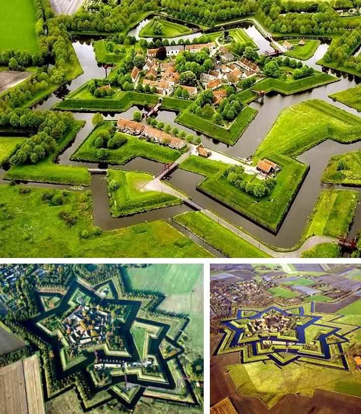 Fortress Bourtange, Netherlands