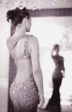 fashion dress sequin