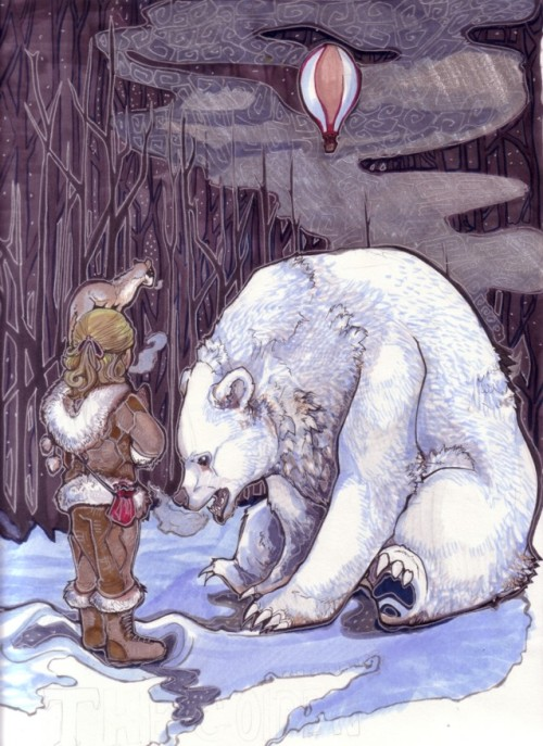 decanteroftokay:  The North- The Golden Compass by ~zirofax