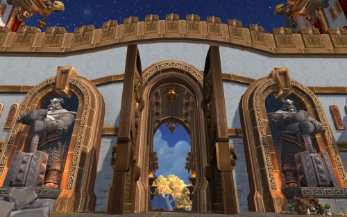 Gate of the August Celestials, Kun-Lai Summit, Pandaria, 2012.