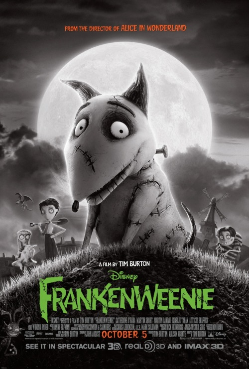 Francis did a review of Tim Burton's Frankenweenie for our friends at Flash Flood Media.  You can view it by clicking here