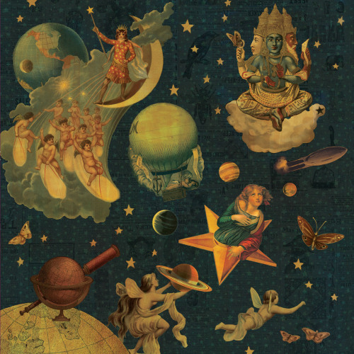 maximumscott:  The Smashing Pumpkins - Mellon Collie And The Infinite Sadness reissue artwork