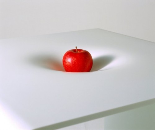 "designcube:  Newton Table by Makoto Tojiki  More like ""Newton meets Einstein"", no?"